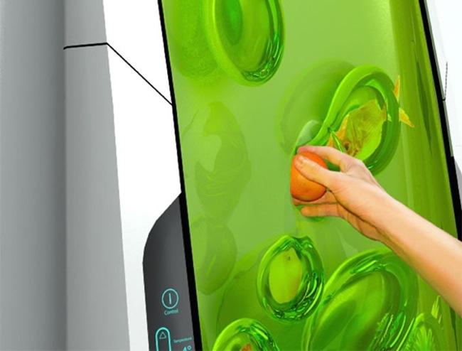 Tech news world electrolux bio robot concept refrigerator for Bio robot fridge cost