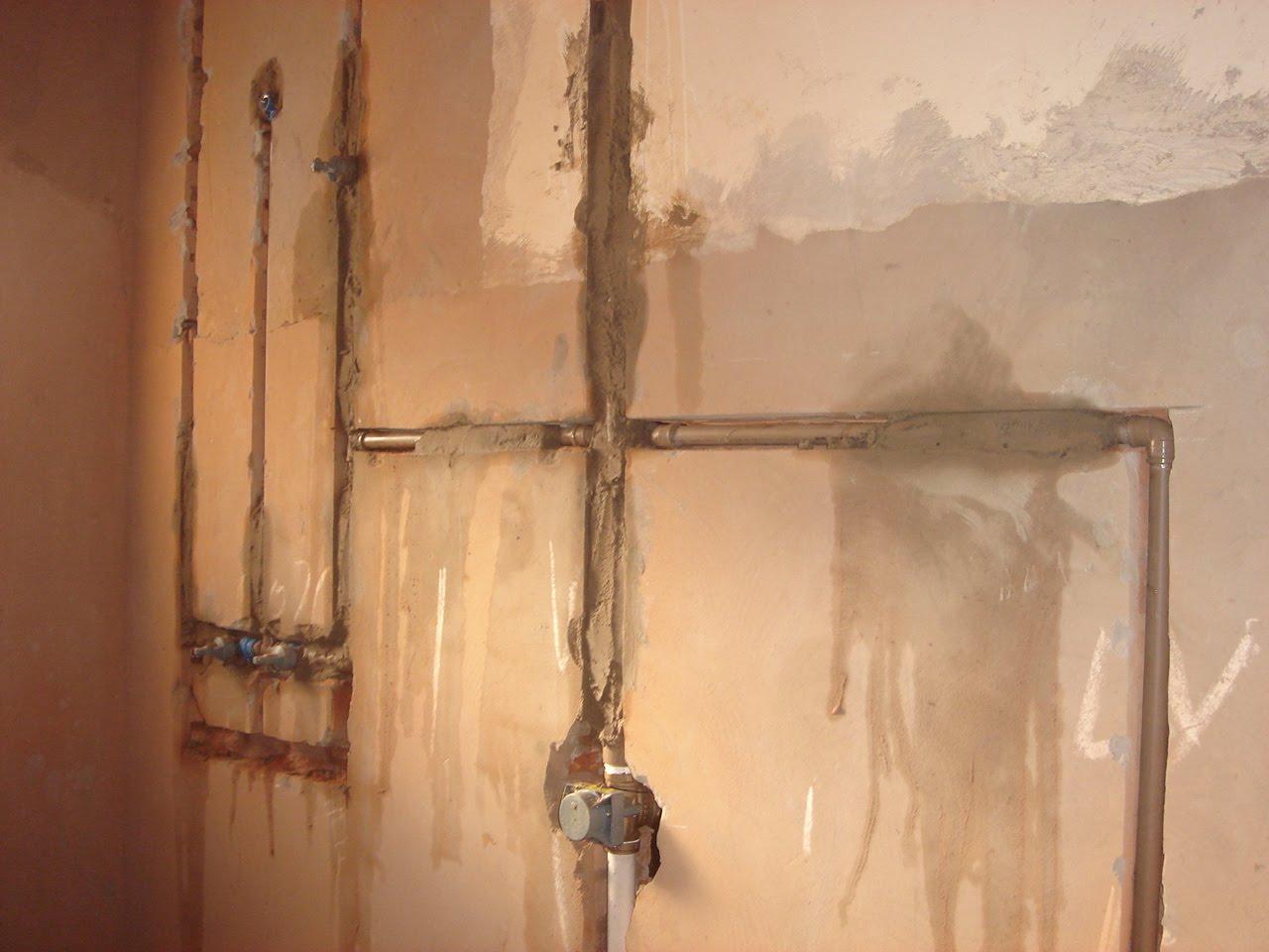 de louças e metais novos pontos de água e esgoto chuveiros #9D632E 1280x960 Banheiro Com Cheiro De Esgoto O Que Fazer