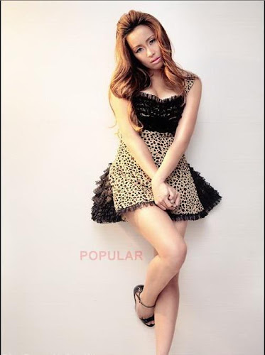 Foto Hot Pingkan Mambo di Majalah Popula Celebrity photoshoot for magazine