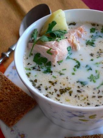 Финский рыбный суп.