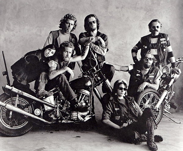 Gallery For > Hells Angels Choppers
