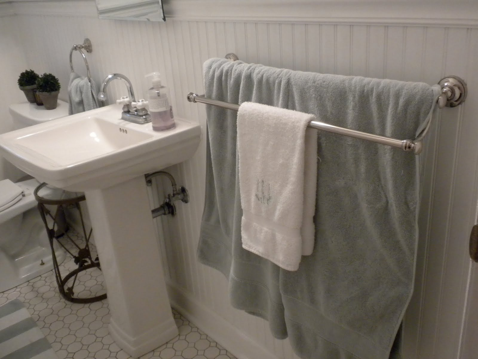 Double towel bars for bathrooms - Double Towel Bars For Bathrooms 30
