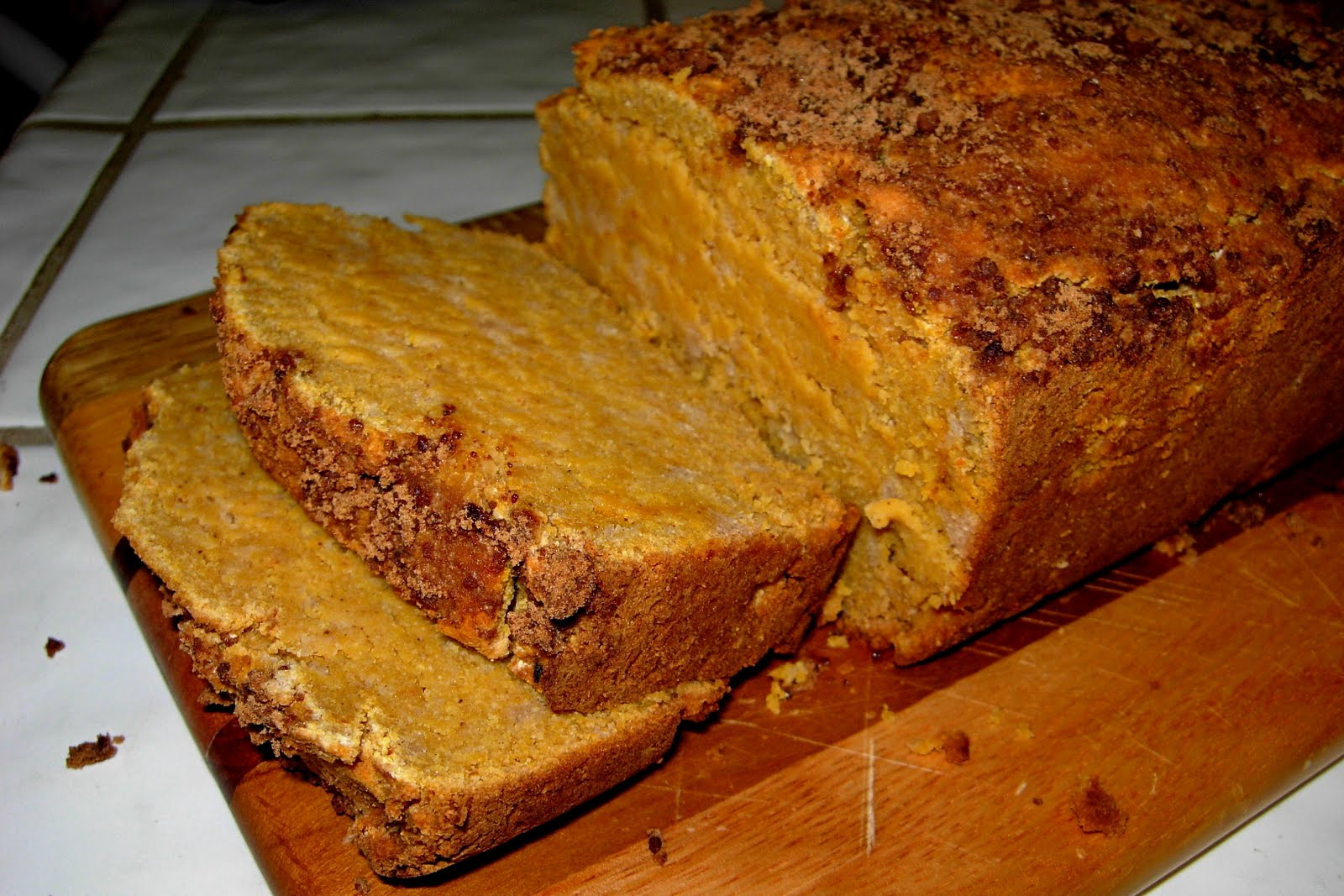 CFSCC presents: EAT THIS!: Paleo Pumpkin Bread