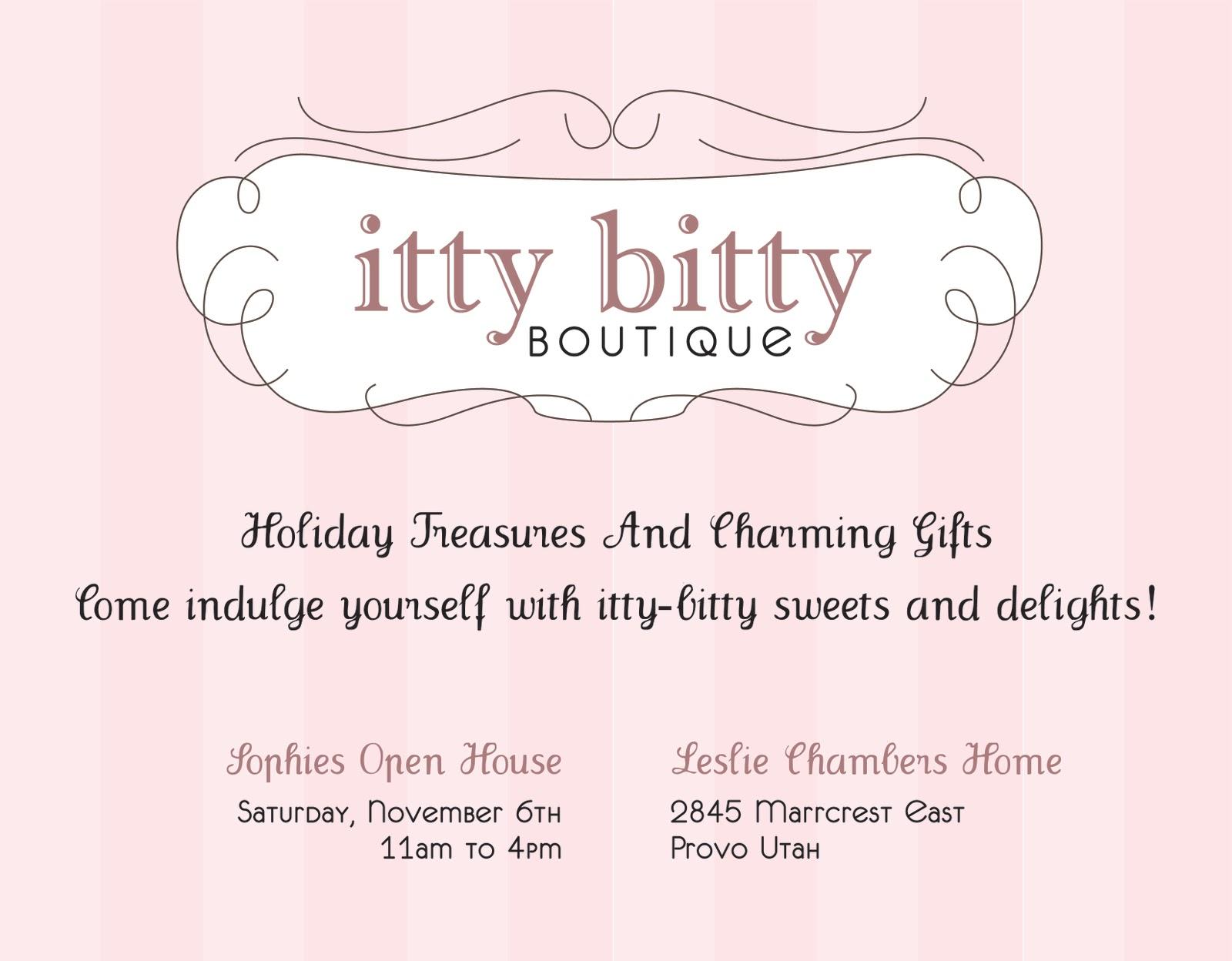 Hillmark design itty bitty boutique invitation itty bitty boutique invitation stopboris Gallery