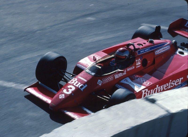 Mario Andretti conquista 6 vittorie nel 1984, compresa la prova inaugurale di Long Beach, laureandosi campione CART. Per il campione del mondo 1978 si tratta del quarto titolo nazionale.