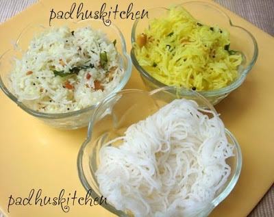 idiyappam-coconut idiyappam-lemon idiyappam