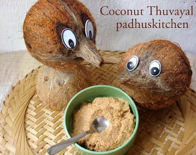 coconut thuvaiyal-thengai thogayal