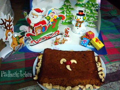 fruit cake decoration. Fruit cake recipe-Simple Fruit