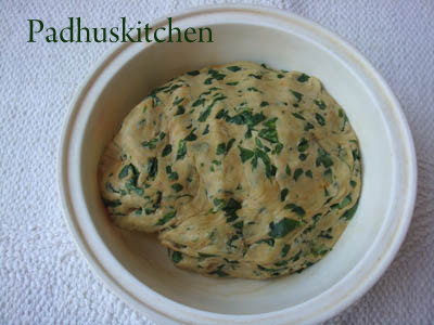 How to prepare methi paratha