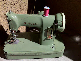 my little green sewing machine