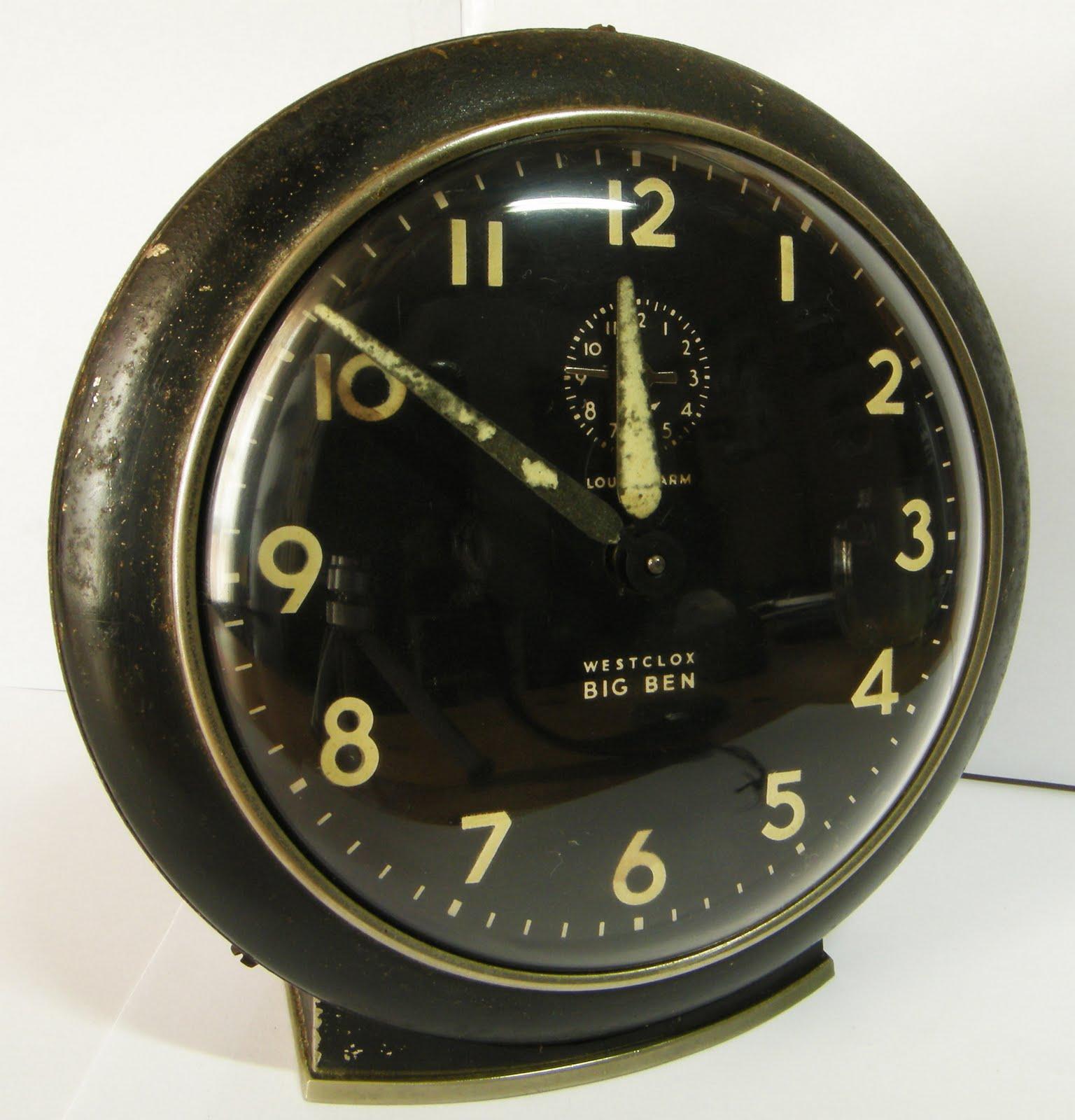 Project Repair Project Westclox Big Ben Alarm Clock Style 6 33