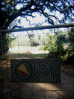 Entrance to Pie Ranch, Pescadero, CA