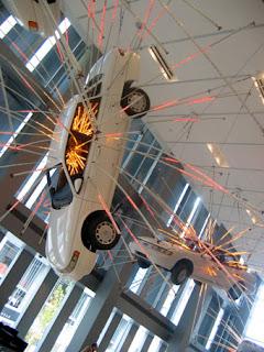 Seattle Art Museum, Suspended Car Bursting