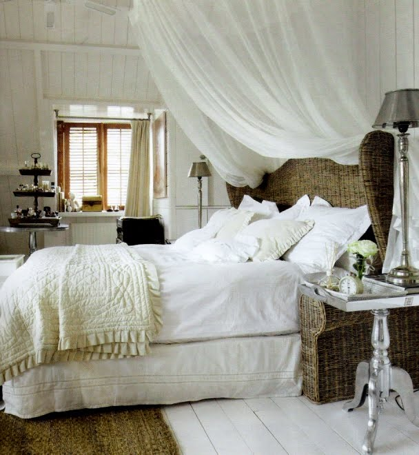 Rivièra Maison Bedroom, edited by lb for linenandlavender.net