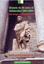 Historia de 25 Años de Solidaridad 1984-2009