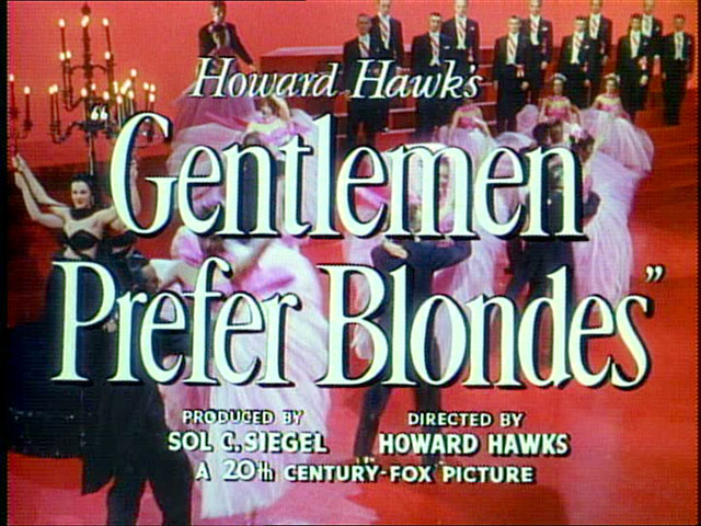 Gentlemen Prefer Blondes (1953) - IMDb