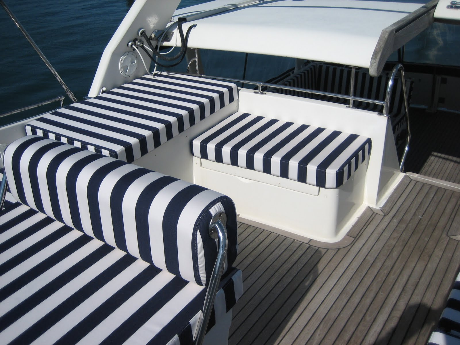 Colin Rouse Auto Trim Cornwall Motor Yacht Upholstery