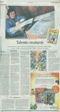 Nota de JUNIOR en diario La Voz del Interior