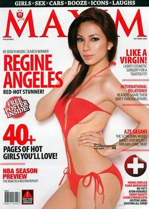 Regine Angeles for Maxim Philippines
