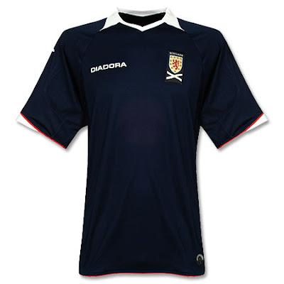 Scotland Home Shirt 2008/09