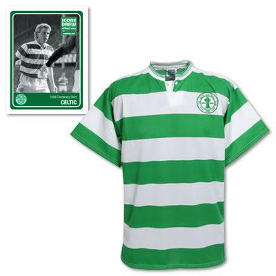 Celtic 1978 Home Retro Shirt