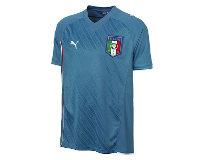 Italy Confederations Cup 2009 Home Shirt