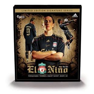 Liverpool Fernando Torres El Nino Boxed Shirt