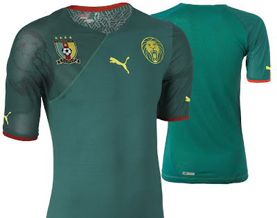 Cameroon Home Shirt 2009/11