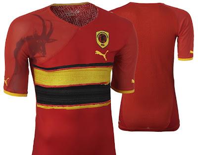 Angola Home Shirt 2009/11