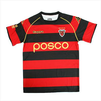 Pohang Steelers home kit 2009/10