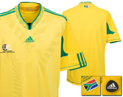 South Africa Home Shirt 2009/10