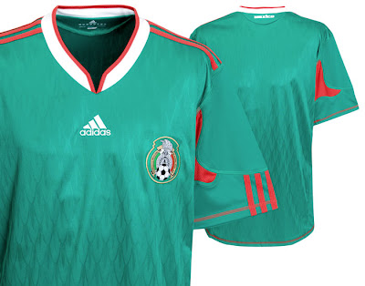 Mexico Home Shirt 2009/10
