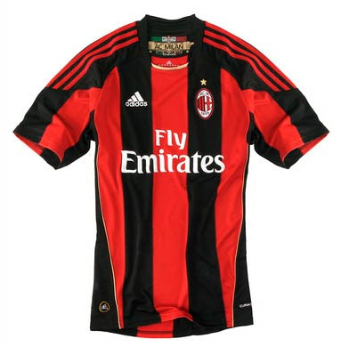 AC Milan Home Shirt 2010/11