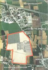 Planimetria concessione escavazione ATE 9