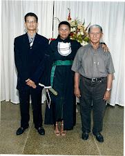 Meu filho, eu e meu pai