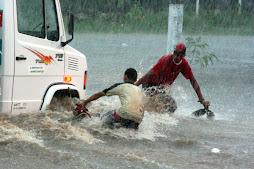 Enchentes na Cidade do Sol