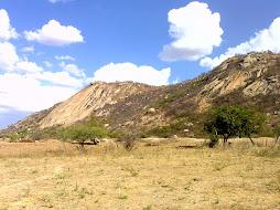 Área de desertificação no sertão paraibano