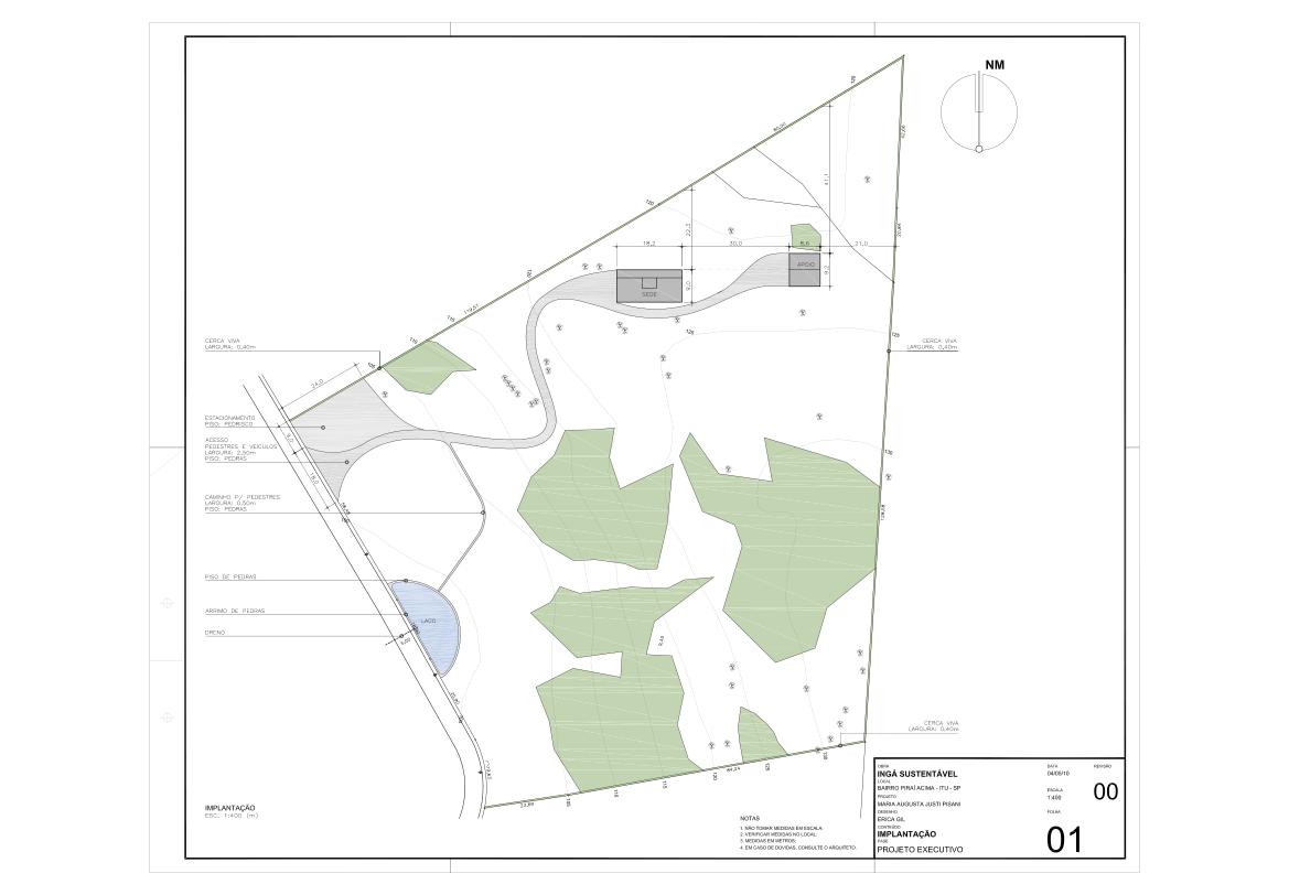 Ingá Sustentável: Projeto Executivo e Detalhes Construtivos #667C4F 1169 812