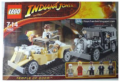 7682 Lego Indiana Jones - Shanghai Chase