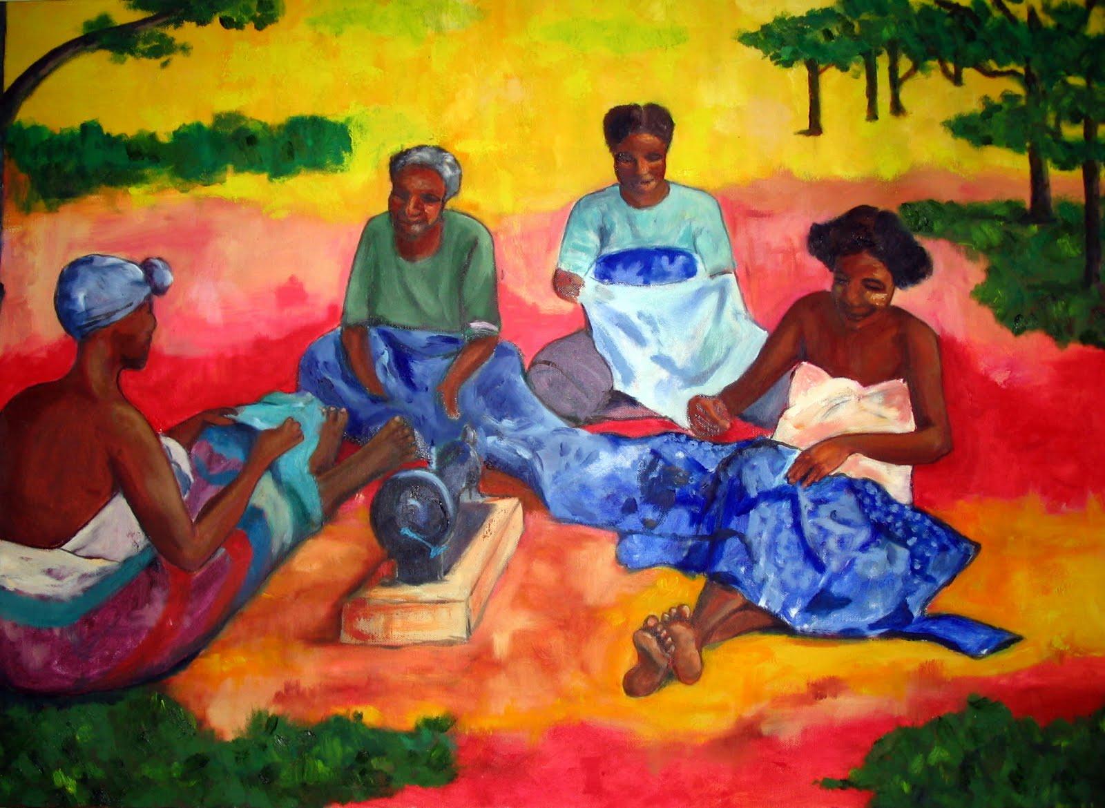 Paintings: Madagascar - SusanLisbin.com