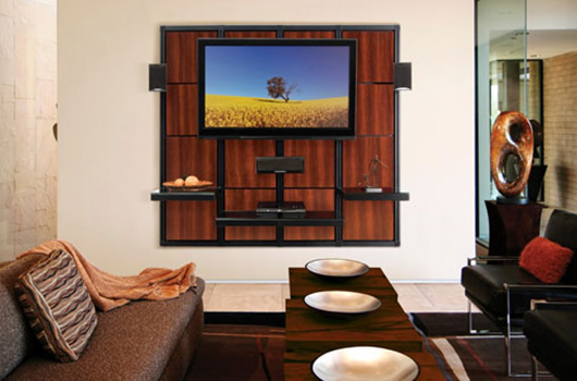 Wall Mounted Home Entertainment Center