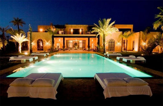 House designs luxury homes interior design luxury for Pool villa design