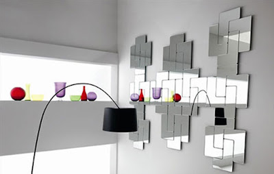 Glass Mirror, Home Interior Decorating Ideas by Fiam Italia   Julia Dozsa