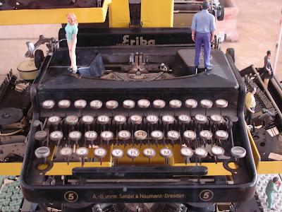 Pre-war typewriter