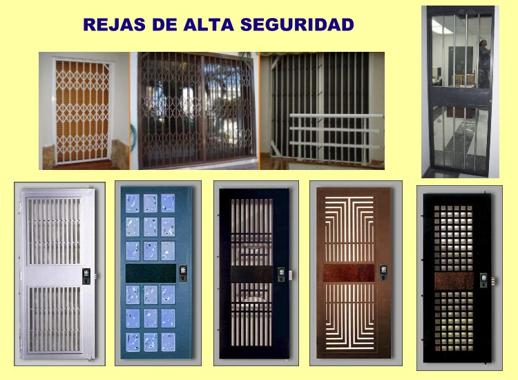 Master lock rejas de alta seguridad - Puertas de reja ...