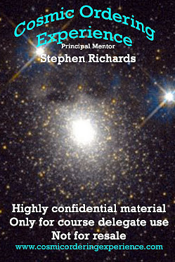 Paperback - Only For Course Delegates on Cosmic Ordering Experience Course