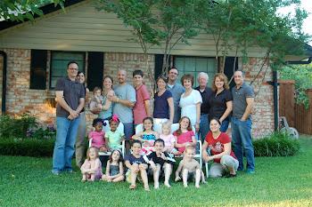 Aunts & Uncles & Cousins Oh My!