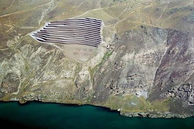 Cairnmuir Landslide ~ Aerial View
