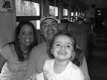 Family pic on Thomas the Train