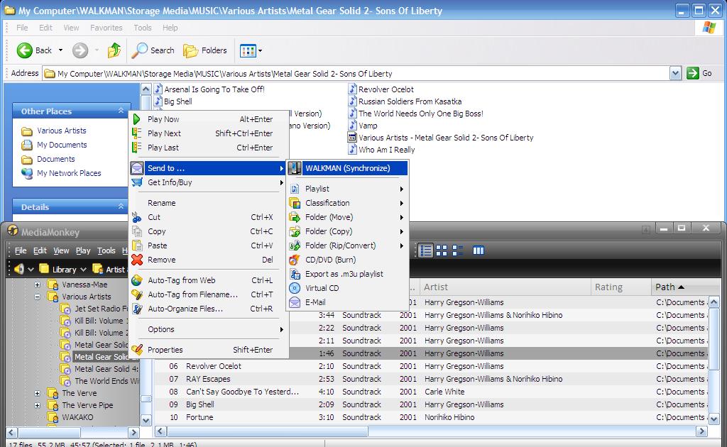 how to create playlist in sony walkman nwz-b162f